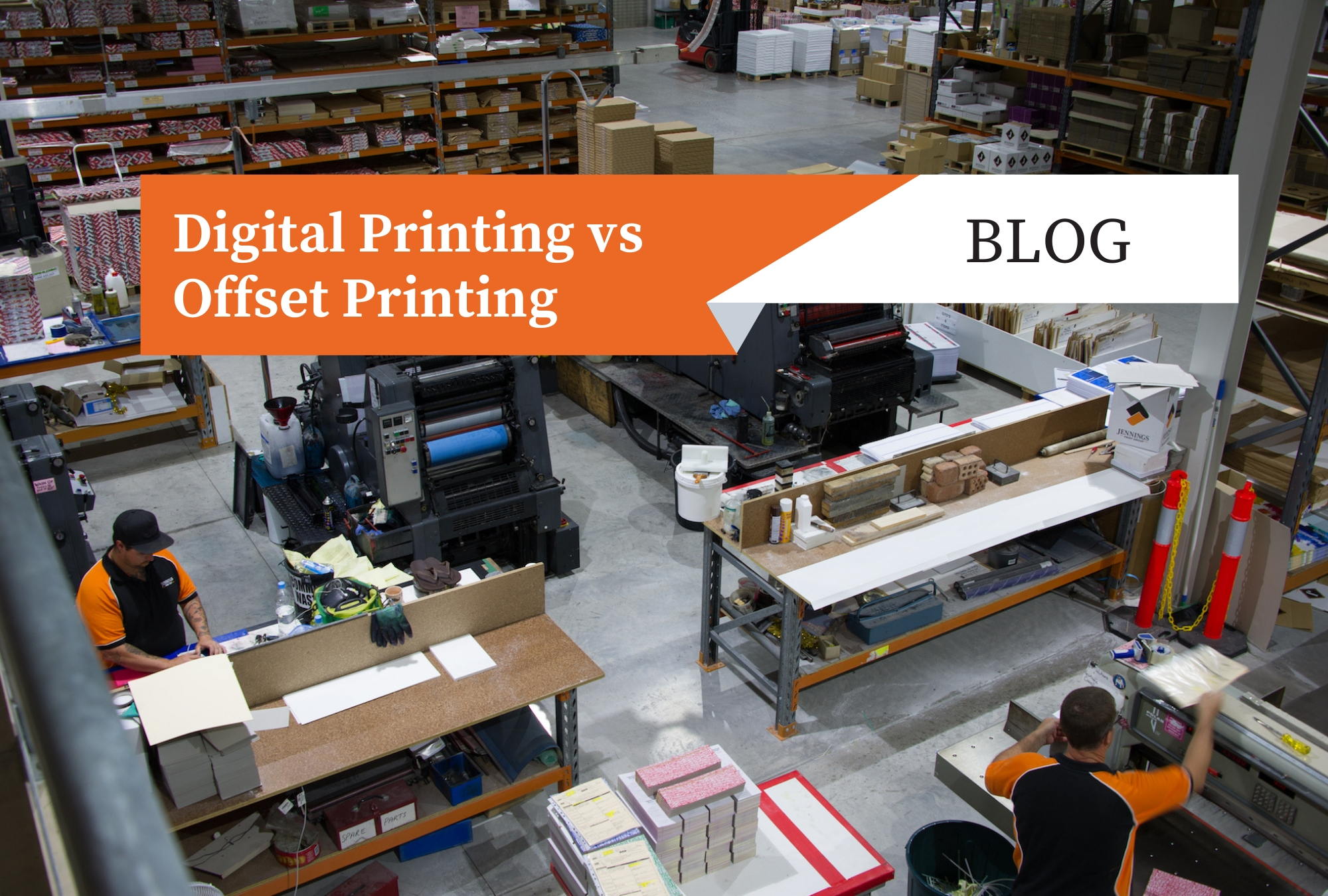 Difference between digital printing and offset printing?